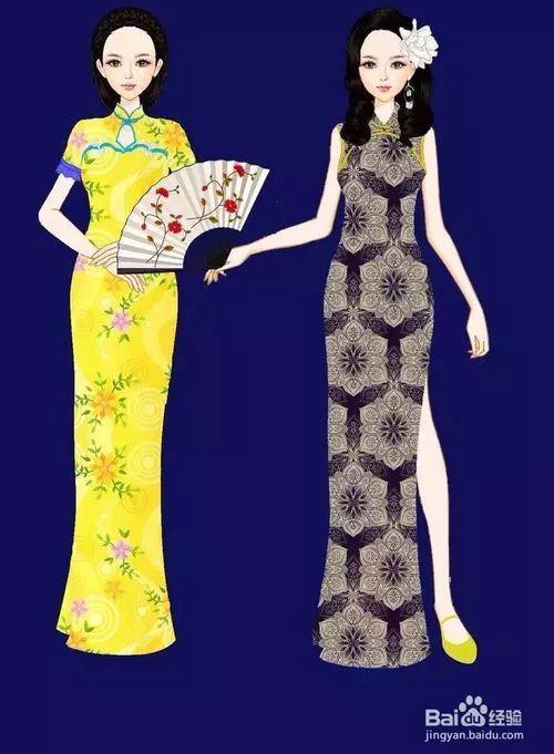 旗袍如何穿得好看得体